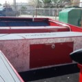 NESSELONEY RED GREY INSIDE DECK GRASS RAKE