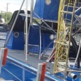 PANTHER BLUE DECKOVER SEADEK REAR TO FRONT CLOSE SAUNDERS