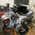 FIRST AIRBOAT LS CAR ENGINE COMBO IVE SEEN LIKE THIS