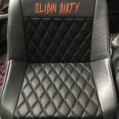 "BIG SHOUT OUT TO ""ALL KINE APOLSTERY"" for my sick new seats !!!!!"
