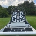 Airboat black and white instagram